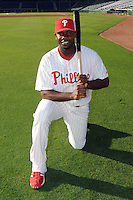 Feb 20, 2009; Clearwater, FL, USA; The Philadelphia Phillies infielder Ryan Howard (6) during photoday at Bright House Field. Mandatory Credit: Tomasso De Rosa/ Four Seam Images