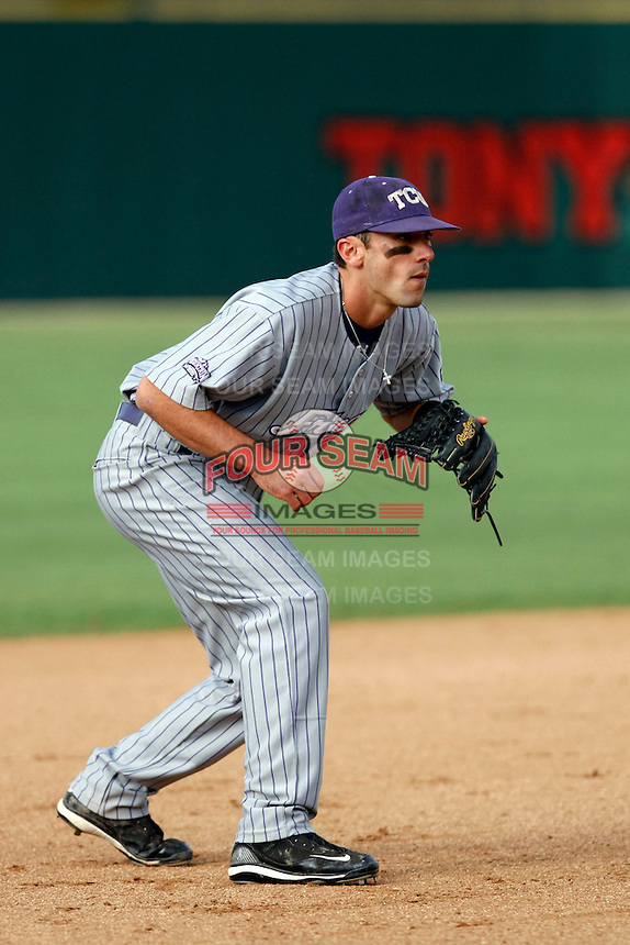 Matt Carpenter - 2009 Texas Christian Horned Frogs playing against the San Diego State Aztecs at Tony Gwynn Stadium, San Diego, CA - 04/24/2009 .Photo by:  Bill Mitchell/Four Seam Images