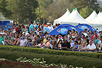 April 12, 2014: Fans crowd the infield before the running of the Arkansas Derby at Oaklawn Park in Hot Springs, AR. Justin Manning/ESW/CSM