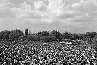 """- """"Re Nudo"""" rock music festival in Lambro Park  (Milan, June 1975)<br /> <br /> - festa del Proletariato Giovanile di """"Re Nudo"""" al Parco Lambro  (Milano, giugno 1975)"""