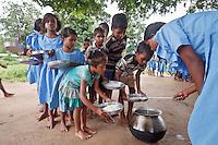 Orissa school canteen India