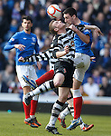 Lee Wallace goes head to head with Kevin Turner