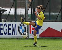 Club Brugge Dames - STVV Sint Truidense VV : Lien Haverals.foto DAVID CATRY / Nikonpro.be