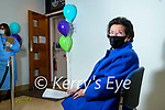 Ina O'Shea Talee who received her Covid-19 vaccine at Clounalour Medical Centre, Tralee on Saturday