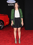 Alanna Masterson  attends The Dreamworks Pictures' L.A. premiere of Need for Speed held at The TCL Chinese Theater in Hollywood, California on March 06,2014                                                                               © 2014 Hollywood Press Agency