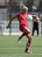 Kristin DeDycker. Washington Freedom defeated FC Gold Pride 4-3 at Buck Shaw Stadium in Santa Clara, California on April 26, 2009.