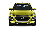Car photography straight front view of a 2019 Hyundai Kona Limited DCT 5 Door SUV