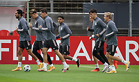 Emre Can (Deutschland Germany), Robin Koch (Deutschland Germany), Julian Draxler (Deutschland, Germany), Mahmoud Dahoud (Deutschland Germany), Kai Havertz (Deutschland, Germany), Julian Brandt (Deutschland Germany)<br /> - 05.10.2020: Training der Deutschen Nationalmannschaft, Suedstadion Koeln<br /> DISCLAIMER: DFB regulations prohibit any use of photographs as image sequences and/or quasi-video.