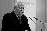 Former Soviet President Mikhail Gorbachev. Photo by Quique Kierszenbaum