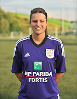 RSC Anderlecht Dames : Laura De Neve<br /> foto David Catry / nikonpro.be
