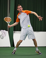 18-01-14,Netherlands, Rotterdam,  TC Victoria, Wildcard Tournament, ,    Milco Trampe (NED)<br /> Photo: Henk Koster
