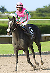 10 July 2010: First Passage and Jockey Jermaine Bridgmohan after the Princess Rooney Handicap at Calder Race Course in Miami Gardens, FL.