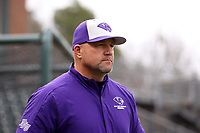 CHAPEL HILL, NC - FEBRUARY 19: Head coach Craig Cozart #38 of High Point University during a game between High Point and North Carolina at Boshamer Stadium on February 19, 2020 in Chapel Hill, North Carolina.