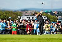 140719 | The 148th Open - Sunday Practice<br /> <br /> Patrick Reid on the 4th tee box at Royal Portrush Golf Club, County Antrim, Northern Ireland. Photo by John Dickson - DICKSONDIGITAL