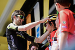 Luke Durbridge (AUS) Mitchelton-Scott at sign on before the start of Stage 16 of the 2019 Tour de France running 177km from Nimes to Nimes, France. 23rd July 2019.<br /> Picture: ASO/Pauline Ballet   Cyclefile<br /> All photos usage must carry mandatory copyright credit (© Cyclefile   ASO/Pauline Ballet)