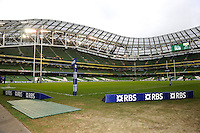 General view of the Aviva Stadium, Dublin  during the RBS 6 Nations match between Ireland and England on Sunday 10 February 2013 (Photo by Rob Munro)