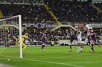 21th September 2021; Stadio Artemio Franchi, Firenze, Italy; Italian Serie A football, AC Fiorentina versus  FC Inter; Edin Dzeko of Inter scores the goal for 1-2 in minute 55