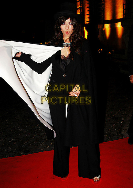 SABRINA IMPACCIATORE.arrives at the Patricia McQueeney Award Dinner Party Hosted By Vanity Fair on the eighth day of Rome Film Festival (Festa Internazionale di Roma) at the Etruscan Museum Valle Giulia, Rome, Italy, October 20th 2006..full length red carpet .Ref: CAV.www.capitalpictures.com.sales@capitalpictures.com.©Luca Cavallari/Capital Pictures.