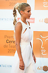 Ana Fernandez poses for the photographers during 2015 Theater Ceres Awards photocall at Merida, Spain, August 27, 2015. <br /> (ALTERPHOTOS/BorjaB.Hojas)