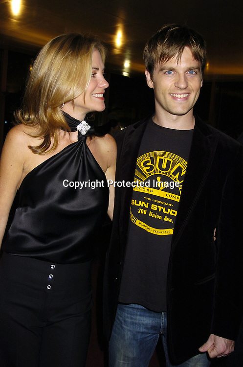 Kassie DePaiva and Trevor St John ..at The Feast with Famous Faces benefitting The League for The Hard of Hearing on September 26, 2005 at JP Morgan Chase Dining Room. ..Photo by Robin Platzer, Twin Images