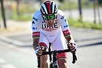 Rui Costa (POR) UAE Team Emirates attacks from the peloton with 7km to go during Stage 5 of the 2019 Tour de France running 175.5km from Saint-Die-des-Vosges to Colmar, France. 10th July 2019.<br /> Picture: ASO/Alex Broadway | Cyclefile<br /> All photos usage must carry mandatory copyright credit (© Cyclefile | ASO/Alex Broadway)