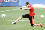 Atletico de Madrid's Juanfran Torres during Champions League 2015/2016 training session. May 27,2016. (ALTERPHOTOS/Acero)