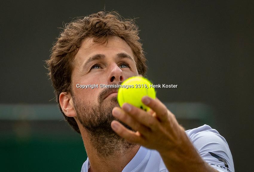London, England, 3 July, 2019, Tennis,  Wimbledon, Robin Haase (NED)<br /> Photo: Henk Koster/tennisimages.com