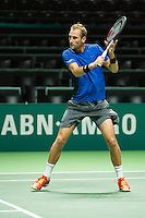 Rotterdam, The Netherlands, Februari 9, 2016,  ABNAMROWTT, Thiemo de Bakker (NED) <br /> Photo: Tennisimages/Henk Koster