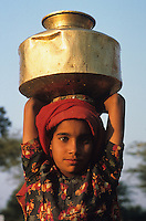"Asien Indien IND Rajasthan Tilonia .Kinder und Frauen aus einem Dorf holen Trinkwasser von einem Brunnen , die Brunnen werden von NGO barefoot college repariert und gewartet - Wasser Umwelt Wasserknappheit Lebensgut D?rre Durst na§ Monsun Regen Grundwasser Element Leben kostbar  Pumpe Wasserpumpe pumpen l?ndliche Entwicklung Entwicklungspolitik Frau Kind Dritte Welt trinken Resourcen Wassertopf auf Kopf tragen Tradition traditionell indisch Inder Menschen Mensch xagndaz | .Asia India Rajasthan Tilonia.women and kids fetch drinking water from well in village - Water environment resource life woman children child girl groundwater wet drink rural development Third world pump pot carry on the head human people live drought rain monsoon .| [copyright  (c) agenda / Joerg Boethling , Veroeffentlichung nur gegen Honorar und Belegexemplar an / royalties to: agenda  Rothestr. 66  D-22765 Hamburg  ph. ++49 40 391 907 14  e-mail: boethling@agenda-fototext.de  www.agenda-fototext.de  Bank: Hamburger Sparkasse BLZ 200 505 50 kto. 1281 120 178  IBAN: DE96 2005 0550 1281 1201 78 BIC: ""HASPDEHH""] [#0,26,121#]"