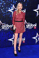 Laura Whitmore<br /> arriving for the Global Awards 2020 at the Eventim Apollo Hammersmith, London.<br /> <br /> ©Ash Knotek  D3559 05/03/2020