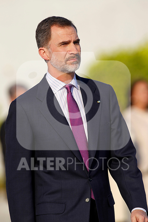 King Felipe VI of Spain departs for an official visit to Japan. April 3 ,2017. (ALTERPHOTOS/Acero)