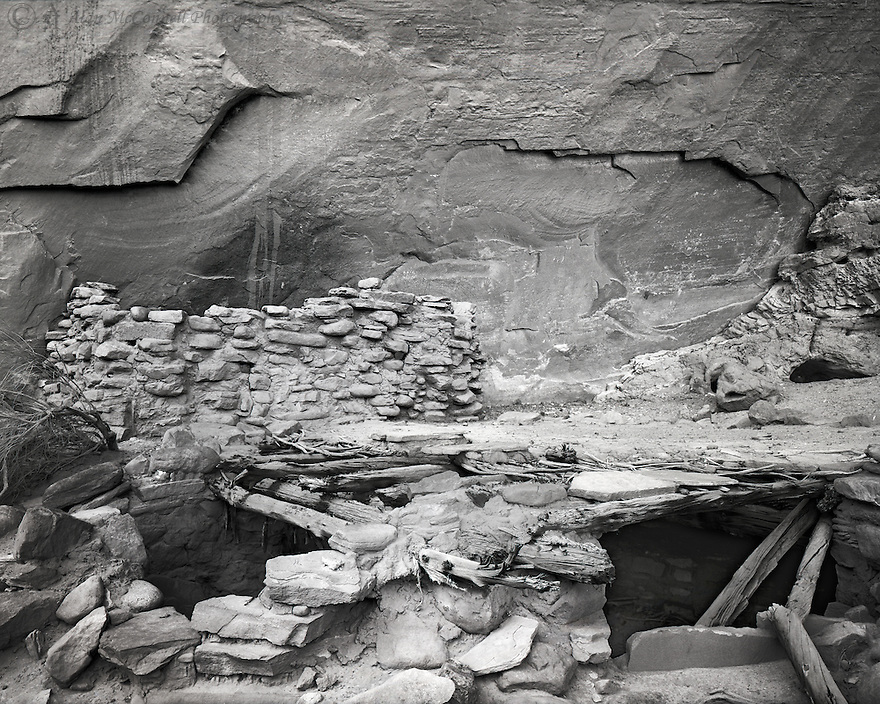 """""""Ruins in White Canyon""""<br /> Many ruins can be found on Cedar Mesa near Natural Bridges National Monument, Utah. As we explored up White Canyon, we found one that still had it's roof partially intact."""