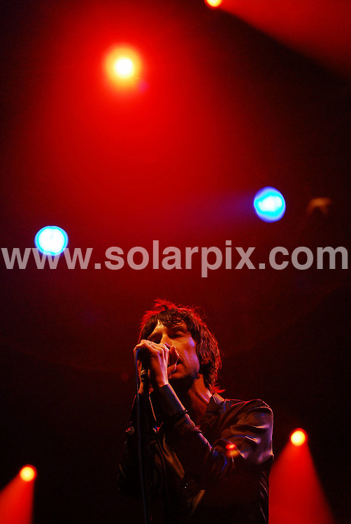 **ALL ROUND PICTURES FROM SOLARPIX.COM**.**WORLDWIDE SYNDICATION RIGHTS**.Day 2 of the Connect Music Festival, held in the grounds of Inveraray Castle, situated on the banks of one of Loch Fyne, Argyll, Scotland. Saturday 1st September 2007..This pic: Primal Scream..JOB REF: 4609 GRK    DATE: 01_09_2007.**MUST CREDIT SOLARPIX.COM OR DOUBLE FEE WILL BE CHARGED* *UNDER NO CIRCUMSTANCES IS THIS IMAGE TO BE REPRODUCED FOR ANY ONLINE EDITION WITHOUT PRIOR PERMISSION*