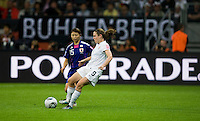 Heather O'Reilly, Aya Sameshima.  Japan won the FIFA Women's World Cup on penalty kicks after tying the United States, 2-2, in extra time at FIFA Women's World Cup Stadium in Frankfurt Germany.