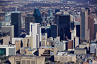 aerial photograph of Dallas, Texas