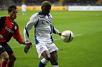 Sibusiso Zuma (Bielefeld)<br /> Eintracht Frankfurt vs. Arminia Bielefeld, Commerzbank Arena<br /> *** Local Caption *** Foto ist honorarpflichtig! zzgl. gesetzl. MwSt. Auf Anfrage in hoeherer Qualitaet/Aufloesung. Belegexemplar an: Marc Schueler, Am Ziegelfalltor 4, 64625 Bensheim, Tel. +49 (0) 6251 86 96 134, www.gameday-mediaservices.de. Email: marc.schueler@gameday-mediaservices.de, Bankverbindung: Volksbank Bergstrasse, Kto.: 151297, BLZ: 50960101