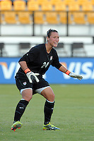 Goalkeeper Jill Loyden made her debut with the U.S. Women's National Team, posting a victory as the U.S., defeated the People's Republic of China, 2-1, Saturday, October 2, 2010, at the Atlanta Beat-KSU Soccer Stadium in Kennesaw, Georgia.