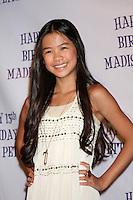 LOS ANGELES - JUL 31:  Tiffany Espensen arriving at the13th Birthday Party for Madison Pettis at Eden on July 31, 2011 in Los Angeles, CA