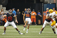 SAN ANTONIO, TX - SEPTEMBER 16, 2016: The Arizona State University Sun Devils slip by the University of Texas at San Antonio Roadrunners 32-28 at the Alamodome. (Photo by Jeff Huehn)