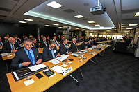 The 2021 New Zealand Rugby Annual General Meeting at the New Zealand Rugby House in Wellington, New Zealand on Thursday, 29 April 2021. Photo: Dave Lintott / lintottphoto.co.nz