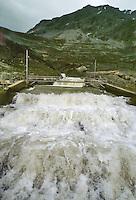 - AEM (Municipal Energetic Company of Milan), compensation basin of the hydroelectric plant at Braulio Pass (Sondrio, Valtellina)....- AEM (Azienda Energetica Municipale di Milano), vasca di commpensazione dell' impianto idroelettrico all Passo del Braulio (Sondrio, Valtellina)