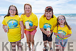 Sarah and Susan Lacey, Helen Geary and Katie Lacey from Ballyheigue attending the Recovery Haven Virtual Celebration of Light in Banna Beach on Saturday.