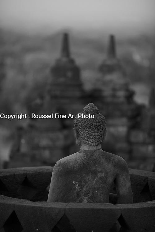 sunset over Borobudur <br /> <br /> <br /> PHOTO :  Agence Quebec Presse