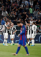 Football Soccer: UEFA Champions UEFA Champions League quarter final first leg Juventus-Barcellona, Juventus stadium, Turin, Italy, April 11, 2017. <br /> during the Uefa Champions League football match between Juventus and Barcelona at the Juventus stadium, on April 11 ,2017.<br /> UPDATE IMAGES PRESS/Isabella Bonotto