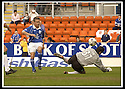 12/05/2002                   Collect Pic : James Stewart.File Name : stewart-st johnstone v hibs 06.TONY CRAIG MAKES THE SECOND OF HIS TWO POINT BLANK SAVES FROM KEIGAN PARKER....Payments to :-.James Stewart Photo Agency, 19 Carronlea Drive, Falkirk. FK2 8DN      Vat Reg No. 607 6932 25.Office     : +44 (0)1324 570906     .Mobile  : +44 (0)7721 416997.Fax         :  +44 (0)1324 570906.E-mail  :  jim@jspa.co.uk.If you require further information then contact Jim Stewart on any of the numbers above.........