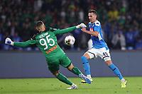 Arkadiusz Milik of Napoli scores a goal<br /> Napoli 30-10-2019 Stadio San Paolo <br /> Football Serie A 2019/2020 <br /> SSC Napoli - Atalanta BC<br /> Photo Cesare Purini / Insidefoto