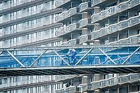 urban bridge<br /> <br /> UCI 2021 Cyclocross World Championships - Ostend, Belgium<br /> <br /> U23 Men's Race<br /> <br /> ©kramon