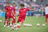 Commerce City, CO - Thursday June 08, 2017: Fabian Johnson during a 2018 FIFA World Cup Qualifying Final Round match between the men's national teams of the United States (USA) and Trinidad and Tobago (TRI) at Dick's Sporting Goods Park.