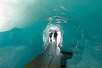 Inside the Rhone Glacier - The start of the Rhone River - Switzerland