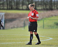 RSC Anderlecht Dames - ADO Den Haag : Sharon Sluyts .foto DAVID CATRY / Nikonpro.be